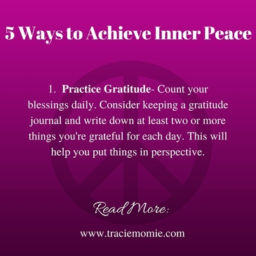 5 ways to achieve inner peace